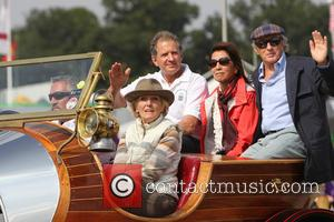 Mary Berry, Jody Scheckter and Jackie Stewart