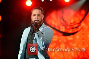 AJ McLean - perform at Cruzan Amphitheater - West Palm Beach, FL, United States - Monday 26th August 2013