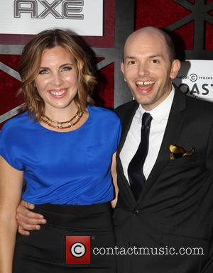 June Diane Raphael and Paul Scheer - The Comedy Central Roast Of James Franco Held at Culver Studios Culver City...