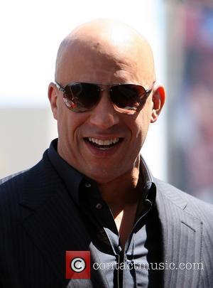 Vin Diesel - Vin Diesel Honored On The Hollywood Walk...