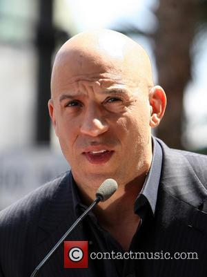 Vin Diesel - Vin Diesel Honored On The Hollywood Walk...