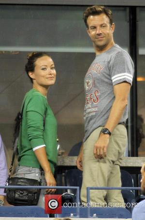 Olivia Wilde and Jason Sudeikas