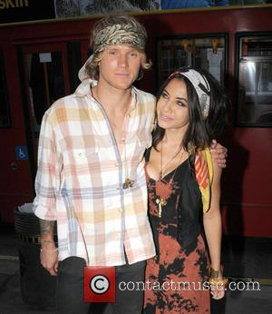 Dougie Poynter and Lara Carew-jones