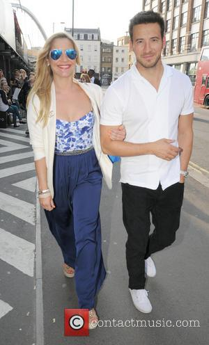 Heidi Range and Boyfriend - Loughran Galleryl hosts the Pop Up Exhibition at the BOXPARK in Shoreditch - London, Shoreditch,...