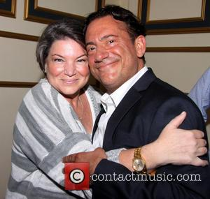 Mindy Cohn and Eugene Pack