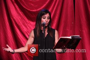Pamela Segall Adlon - Celebrity Autobiography: The Next Chapter, held at the Triad Theatre-performance. - New York, NY, United States...