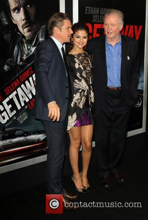 Ethan Hawke, Selena Gomez and Jon Voight