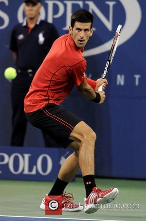 Novak Djokovic - US Open 2013 at USTA Billie Jean King National Tennis Center - Novak Djokovic vs. Ricardas Berankis...