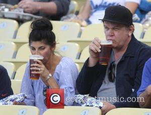 John C. Reilly - Celebrities at the Los Angeles Dodgers baseball game - Los Angeles, CA, United States - Tuesday...