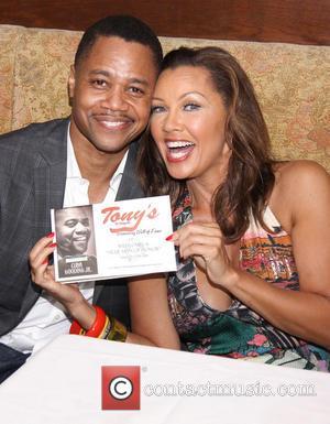 Cuba Gooding Jr. and Vanessa Williams