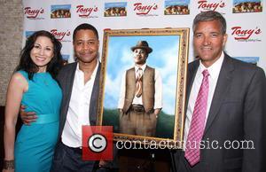 Valerie Smaldone, Cuba Gooding Jr. and Bruce Dimpflmaier