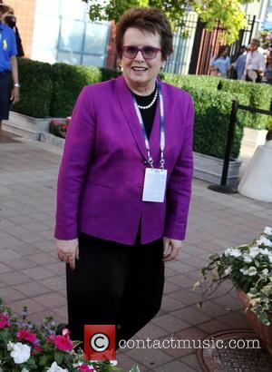 Billie Jean King - Celebrities attend the 2013 US Open at USTA Billie Jean King National Tennis Center - New...