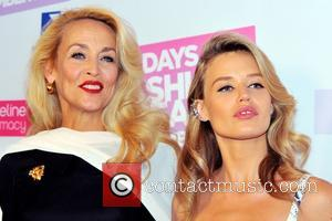Jerry Hall and Georgia May Jagger - 30 Days of Fashion and Beauty launch party at Town Hall - Arrivals...