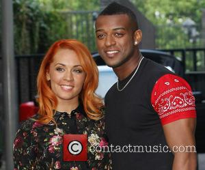 Oritse Williams and Aimee Jade