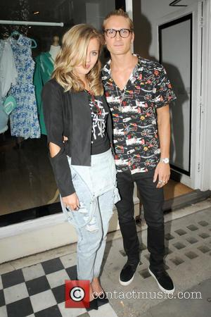 OLIVER PROUDLOCK and CAGGIE DUNLOP - ISWAI1 pop-up shop on Kings Road, Chelsea - London, South, United Kingdom - Wednesday...