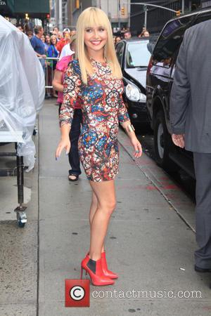Hayden Panettiere, The Late Show With David Letterman, Ed Sullivan Theatre