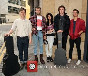 Little Green Cars, Stevie Appleby, Dylan Lynch, Faye O'rourke and Donagh Seaver O'leary