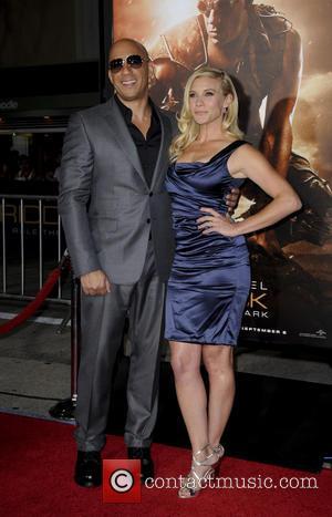 Vin Diesel and Katee Sackhoff - Los Angeles