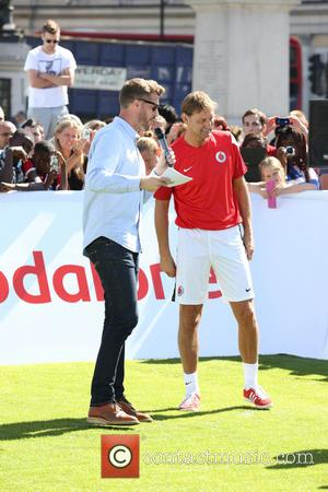 Rick Edwards and Tony Adams