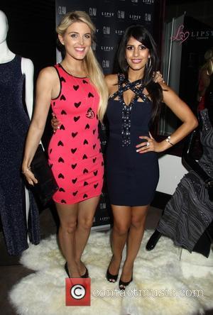 Ashley James and Jasmin Walia