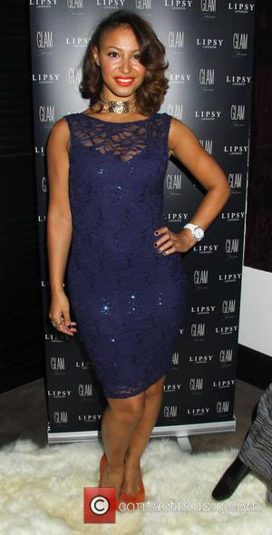 Amelle Berrabah - Celebrities attend the Lipsy 'Glam' fragrance launch held at the Cumberland hotel - London, United Kingdom -...