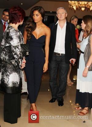 Sharon Osbourne, Nicole Scherzinger and Louis Walsh