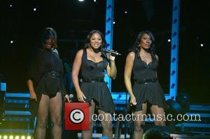 Tamar Braxton, Trina Braxton and Towanda Braxton - Toni Braxton performs in concert at the James L. Knight International Center...