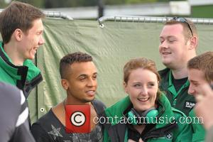 JLS - Fusion Festival Birmingham 2013 - Backstage - Birmingham, United Kingdom - Friday 30th August 2013