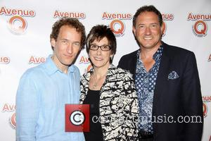 Jeffrey Seller, Robyn Goodman and Kevin McCollum - The 10th Anniversary of the musical Avenue Q at the New World...