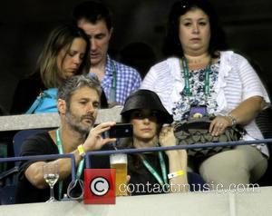Winona Ryder - Celebrities attend the 2013 US Open Tennis Championships game between Caroline Wozniacki and Camila Giorgi at the...