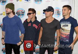 The Wanted, Max George, Jay Mcguiness, Nathan Sykes and Tom Parker