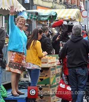 Brendan O'Carroll - Filming on the 1st day of Brendan O'Carrolls,