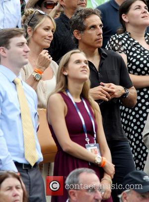 Christine Taylor and Ben Stiller - The 2013 US Open Tennis Championships held at USTA Billie Jean King National Tennis...