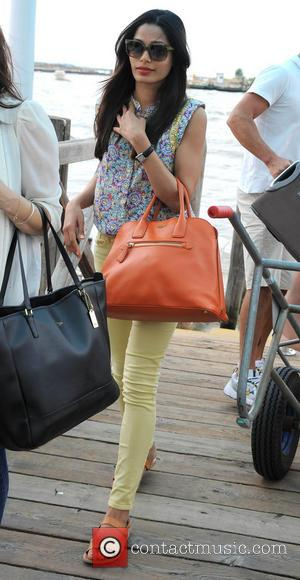 Freida Pinto - 70th Venice Film Festival - Celebrity Sightings - Venezia, Italy - Sunday 1st September 2013