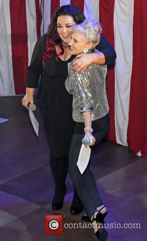 Anita Dobson and Lisa Riley