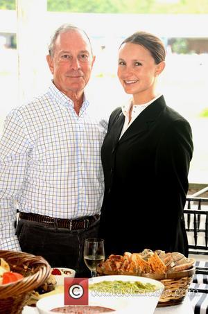 Mayor Michael Bloomberg and Georgina Bloomberg