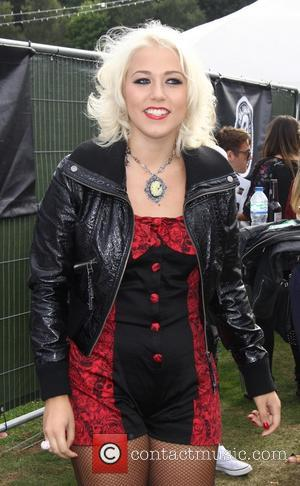 Amelia Lily - Fusion Festival Birmingham 2013 - Backstage - Birmingham, United Kingdom - Sunday 1st September 2013