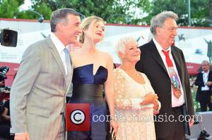 Steve Coogan, Sophie Kennedy Clark, Dame Judy Dench and Stephen Frears