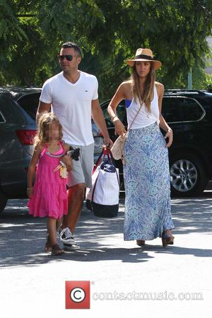 Jessica Alba, Cash Warren and Honor Marie