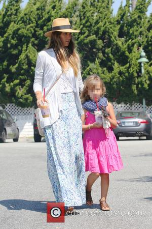 Jessica Alba and Honor Marie