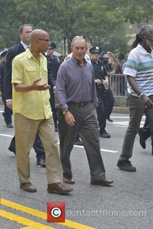 Mayor Bloomberg - West Indian Day Parade 2013 in the Brooklyn where over a million people are expected to attend...