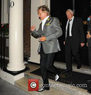Rod Stewart and Guest