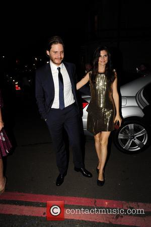 Daniel Bruhl and Felicitas Rombold - World Premiere of 'Rush' - Afterparty at One Marylebone - Arrivals - London, United...