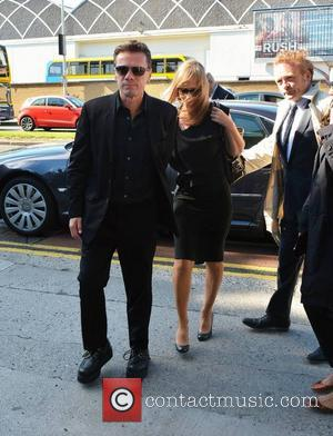 Larry Mullen Jr and Ann Acheson