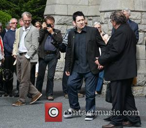 Shane MacGowan - The funeral of poet Seamus Heaney at the Sacred Heart Church, Donnybrook - Dublin, Ireland - Monday...