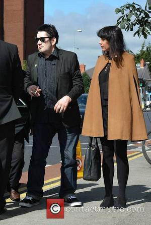 Shane Macgowan and Victoria Mary Clarke