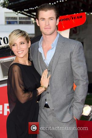 Elsa Pataky and Chris Hemsworth - The world premiere of 'Rush' held at the Odeon Leicester Square - Arrivals -...