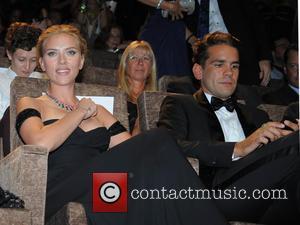 Scarlett Johansson and Romain Dauriac - 70th Venice Film Festival - 'Under the Skin' - Premiere at Venice Film Festival...