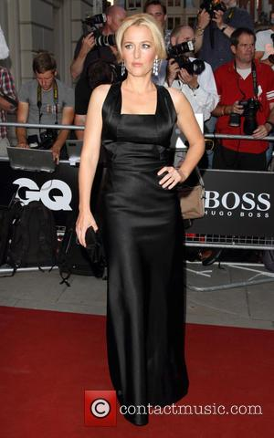Gillian Anderson - GQ Men of the Year Awards held at the Royal Opera House - Arrivals - London, United...