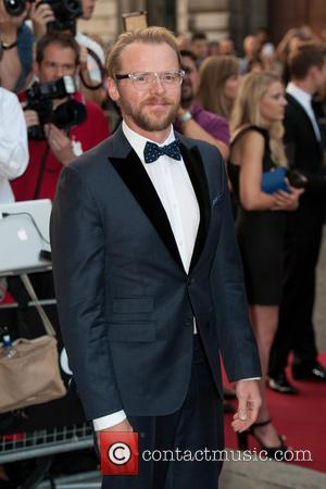 Simon Pegg - GQ Men of the Year Awards held at the Royal Opera House - Arrivals - London, United...